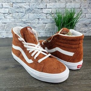 New Vans SK8-Hi Reissue (Pig Suede) leather brown